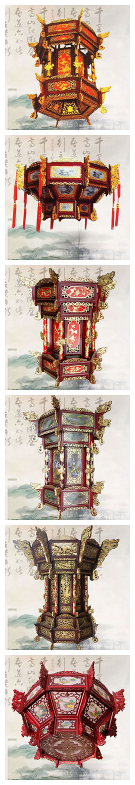 中式装修室内常运用的古典点缀元素--宫灯