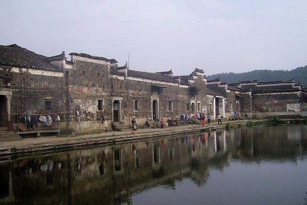 保護完好的江西鶴舍村古建筑群欣賞