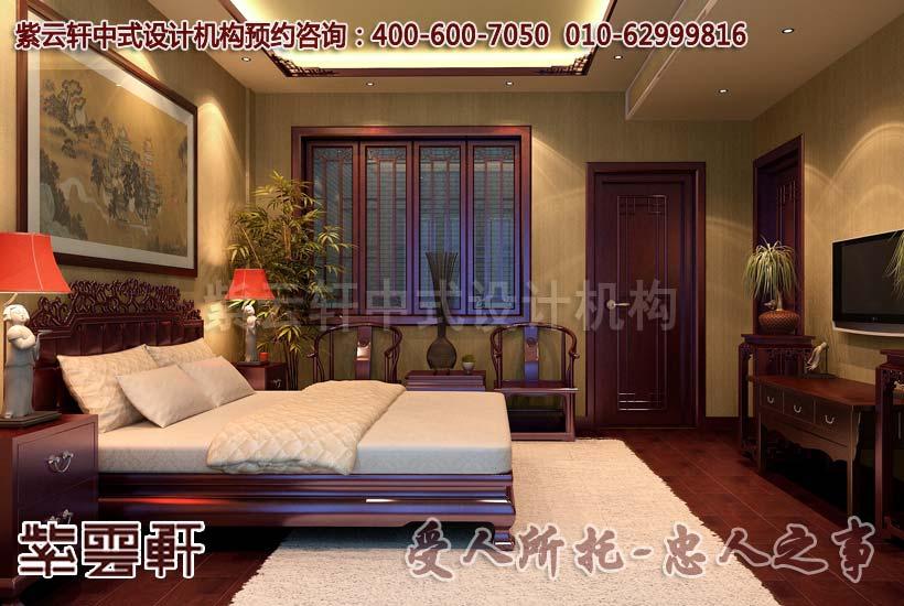 古典时尚的客厅新中式装修效果图欣赏之电视背景墙