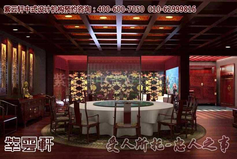 中式风格茶楼装修设计 古韵是最好的诠释