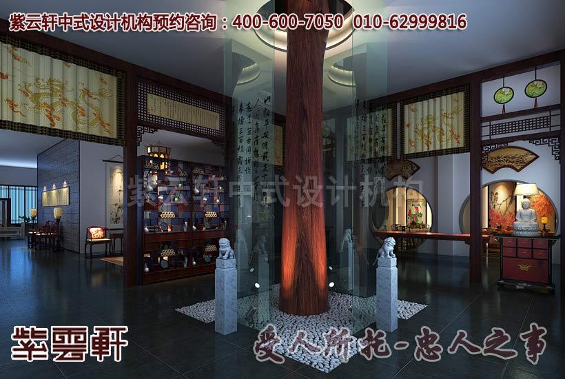 公装设计-大城红木家具展厅红木艺术馆店面展厅