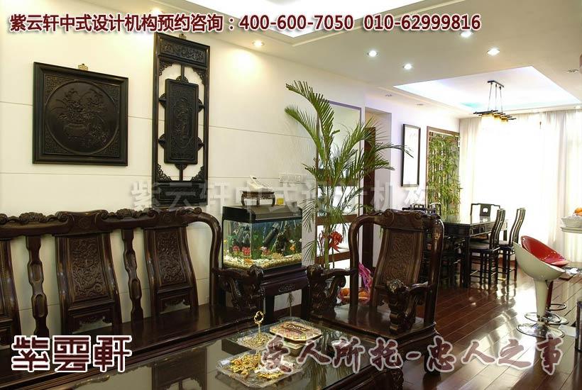 新中式风格装修设计延续家居配饰简洁清秀理念