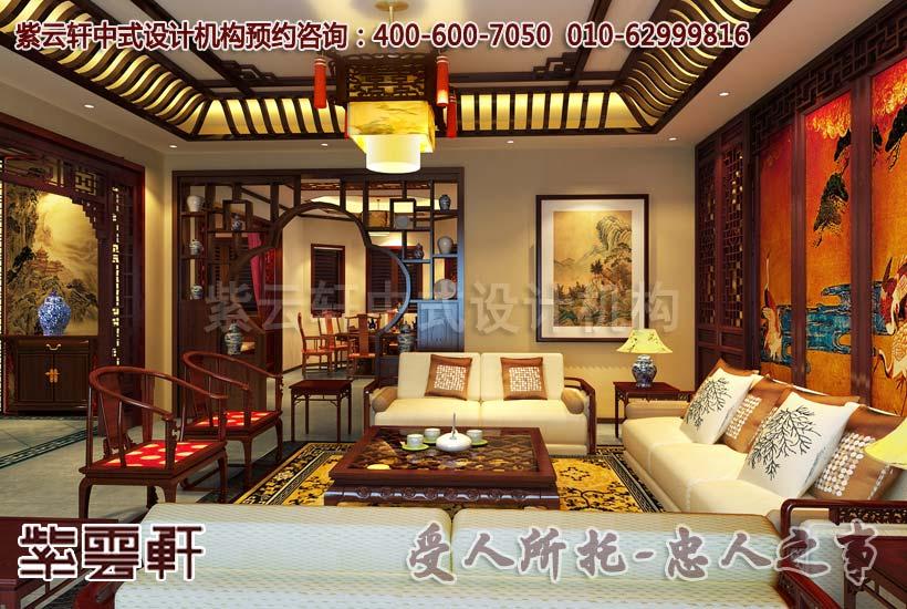 中式风格装修之别墅家居的新潮流完美体现