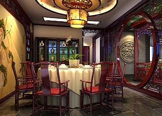 古典中式风格北京豪宅装修案例—雍容华贵尽显豪宅风范