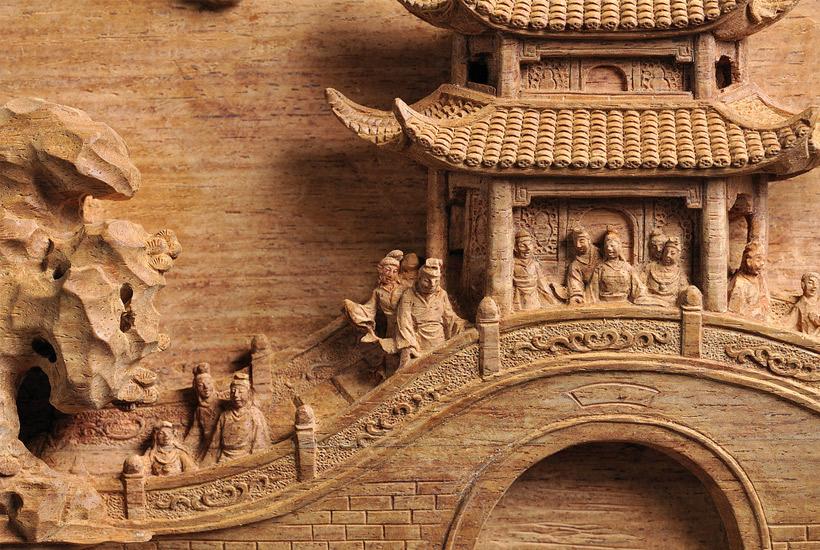 简述传统中式手工木雕与明清红木家具的源流
