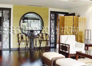 江南豪宅中式装修设计案例-现代的审美,古典的韵味
