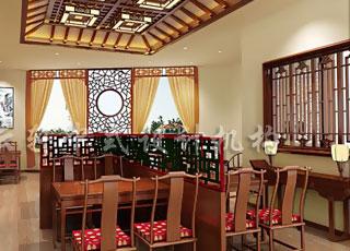 餐厅中式风格装修之波兰中餐馆设计-古典文化积淀的意趣