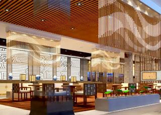 酒店中式装修设计-明亮的基调,赏心悦目的舒适