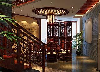 古典中式风格郑州私人会所案例—妙音袅袅意境重生