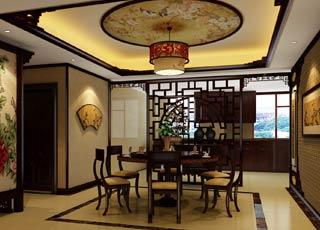 古典风格精品平层住宅案例设计--复古感诉说古今