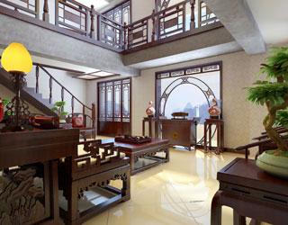 现代中式顶楼设计 奏出华丽生活乐章