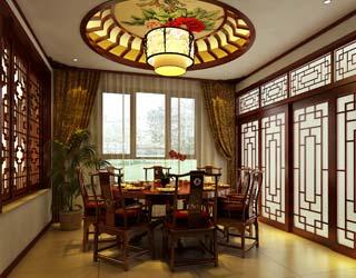 中式复式家装设计案例赏析--犹存千年风雅