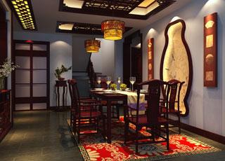 新中式风格别墅设计赏析--虔心感悟,平仄人生