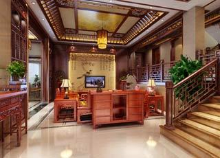 现代中式风格-东阳别墅范总简约中式设计案例赏析