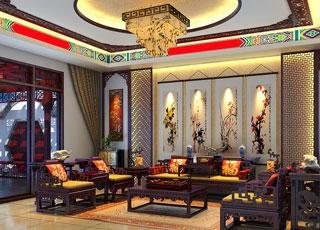 现代中式风格别墅装修设计--沧桑为饮,年华果腹