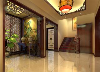 中式古典居家平层设计--精巧雅韵