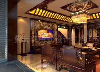 北京张宅复式中式装修作品赏析_长安山麓设计案例