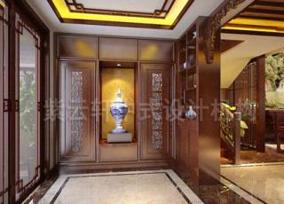 简约中式复式设计装修 大空间小宫殿的享受