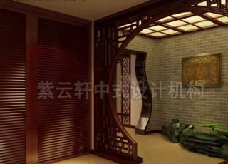 简约中式复式设计装修 美丽生活如花绽放