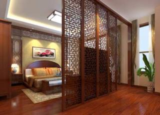 丰台平层中式古典居家装修设计案例赏析
