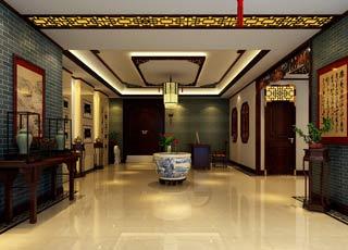 中式风格公装设计 - 办公室中式装修案例赏析