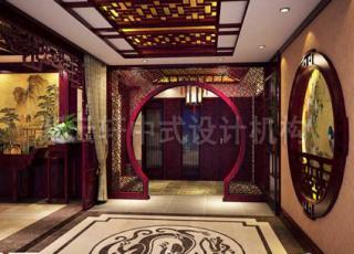 紫云轩中式宝剑会馆展厅 凛然气势方显古典神韵