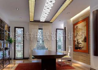 新中式公装店面装修设计——营造优雅环境