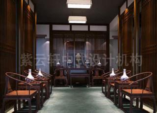 在中式古典办公室之中体验时光交错的惬意和自然