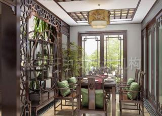 平层中式装修设计 精品居室安乐生活
