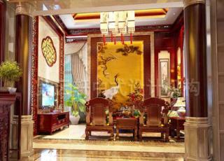 宿迁古典中式别墅设计装修 江南建筑室内的典雅风情