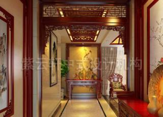 中式平层设计装修 简约凝练之处的文艺腔调