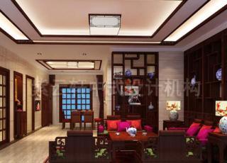 中式风格家装设计 简约古朴极尽淡雅之美
