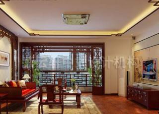 简约中式平层住宅——婉约如自然天成的美好