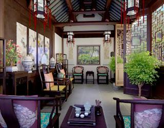 古典中式别墅设计装修 静享西山幽然园林