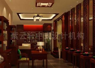 某中式家具展厅设计-山东某家具体验馆中式设计
