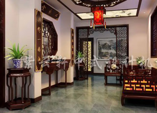 独具江南神韵—简约平层中式古典风格案例