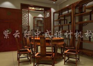 承载历史持久厚重—中式家具展厅案例