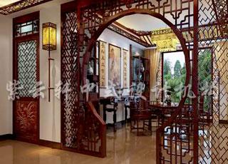 中式平层古典别墅所显示出的婉约和美好