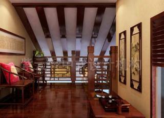 紫云轩中式古典别墅显示中式传统文化的博大精深