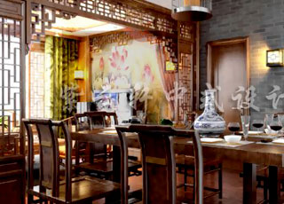中式装修再现传统文化的神韵—精品住宅案例