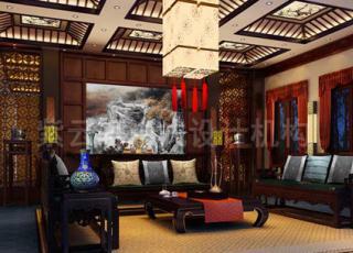 新古典中式装修的豪宅设计欣赏-展现中式含蓄的美