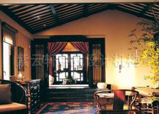 观唐样板间纯古典中式装修设计,内敛的中式装饰和散发古典设计之韵味
