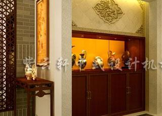 中式装修彰显主人文化底蕴—中式平层设计