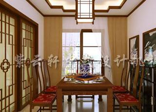 中式装修散发着的淡然悠远的人文气韵—张家港平层