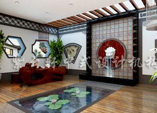 中式别墅装修中别具一格的古典美