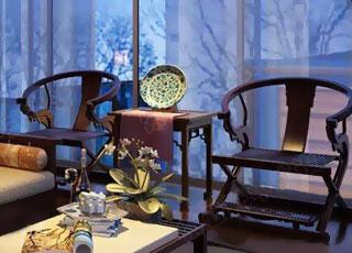 温馨新中式风格装修设计-典雅浪漫的小家氛围