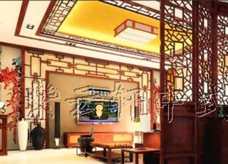 新中式风格南京银河湾案例设计