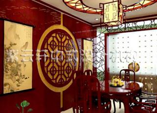古典中式装修设计-秦皇岛案例之古典的绚丽与细腻
