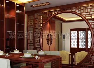 温馨古典中式风格装修设计案例-品位小户型的中式魅力