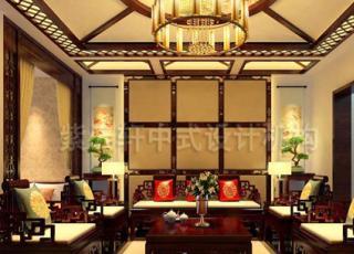 现代中式别墅设计装修 演绎传统中国风